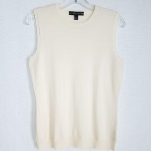 Ralph Lauren Women's Cashmere Sleeveless Sweater